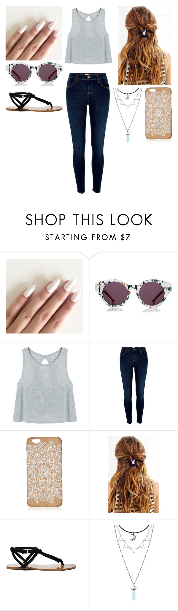 """""""Untitled #280"""" by xjessxforevax ❤ liked on Polyvore featuring Preen, River Island, Urban Outfitters and Sole Society"""