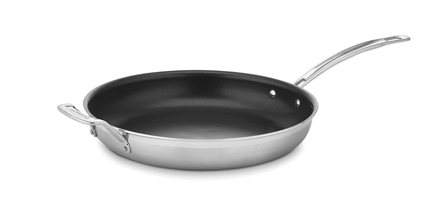 Cuisinart Mcp22 30hnsn Multiclad Pro Nonstick Stainless Steel 12 Inch Skillet Want Additional Info Click On The Image With Images Cuisinart Stainless Stainless Steel