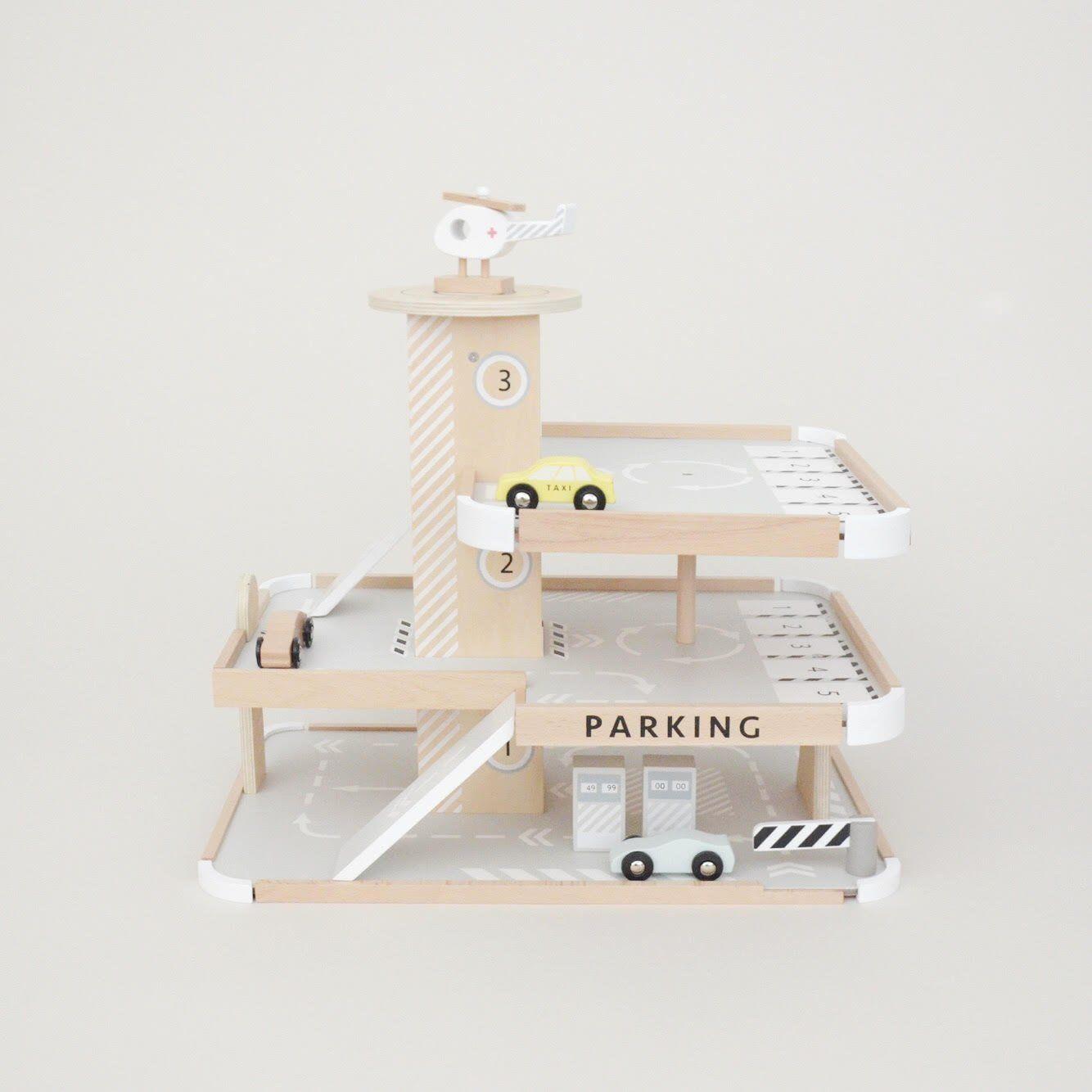Collection Garage Enfant Jouets Petite En Pour De Bois Par UMpSzV