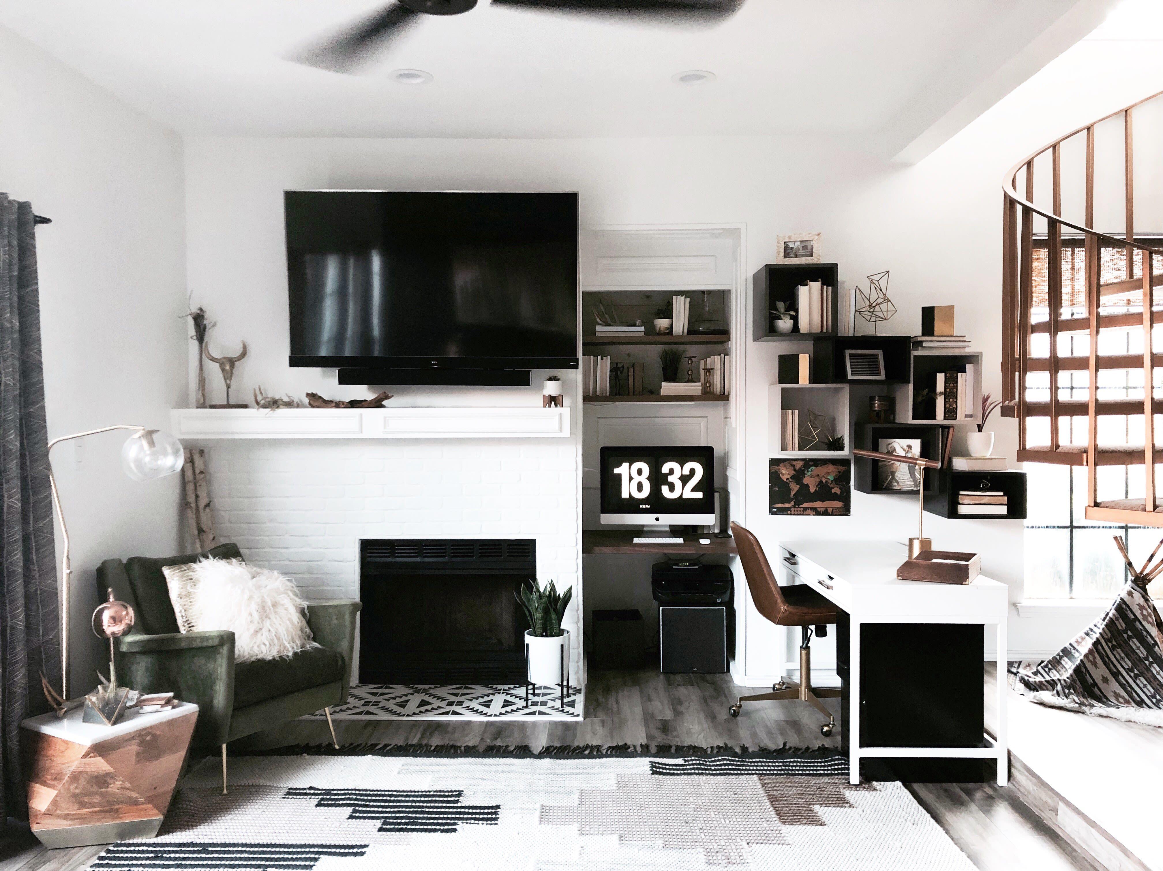 Can You Get An Apartment At 18 In Texas Scandinavian Minimalism Meets Organic Bohemian In Texas With Images Boho Remodel Scandinavian Minimalism House Interior