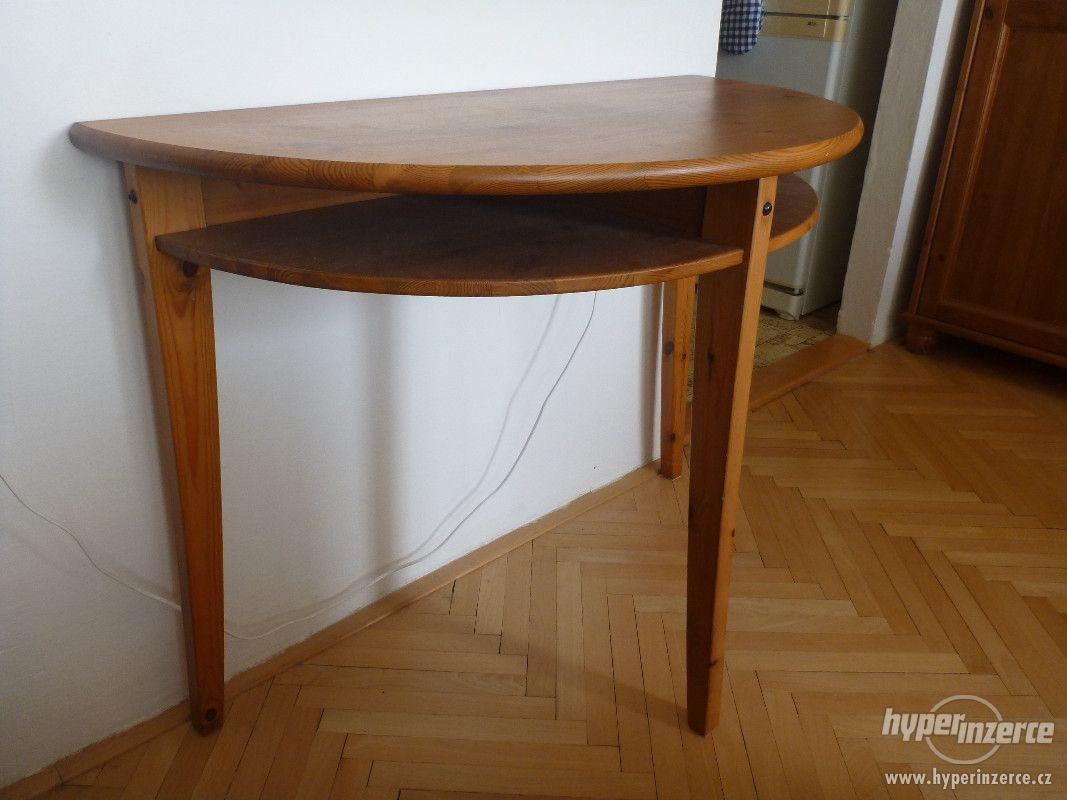 Credenza Ikea Leksvik Dimensioni : Prodám půlkulatý stolek ikea laurila fotografie č. 1 alcova nel