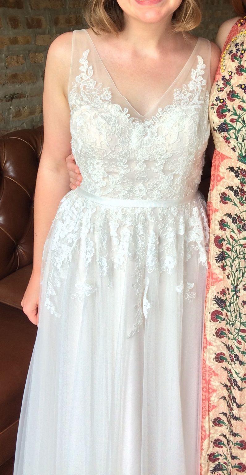 Bhldn Reagan 37595295 Wedding Dress Used Size 10 450