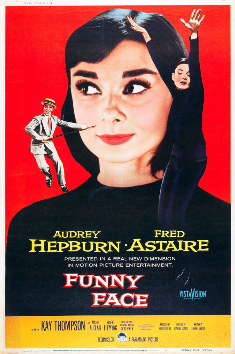 The 50 Best Rom-Coms of All Time (Funny Face (1957) - GoodHousekeeping.com)