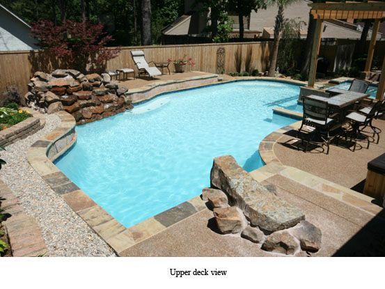 Custom Pool Designs Swimming Builders East Texas Longview Tyler Gunite Pools Inground And Spas