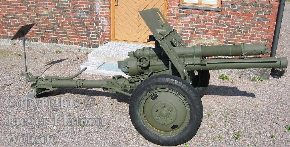 Finnish 84K/18 (Ex-British Army QF 18 Pounder) 76 mm field