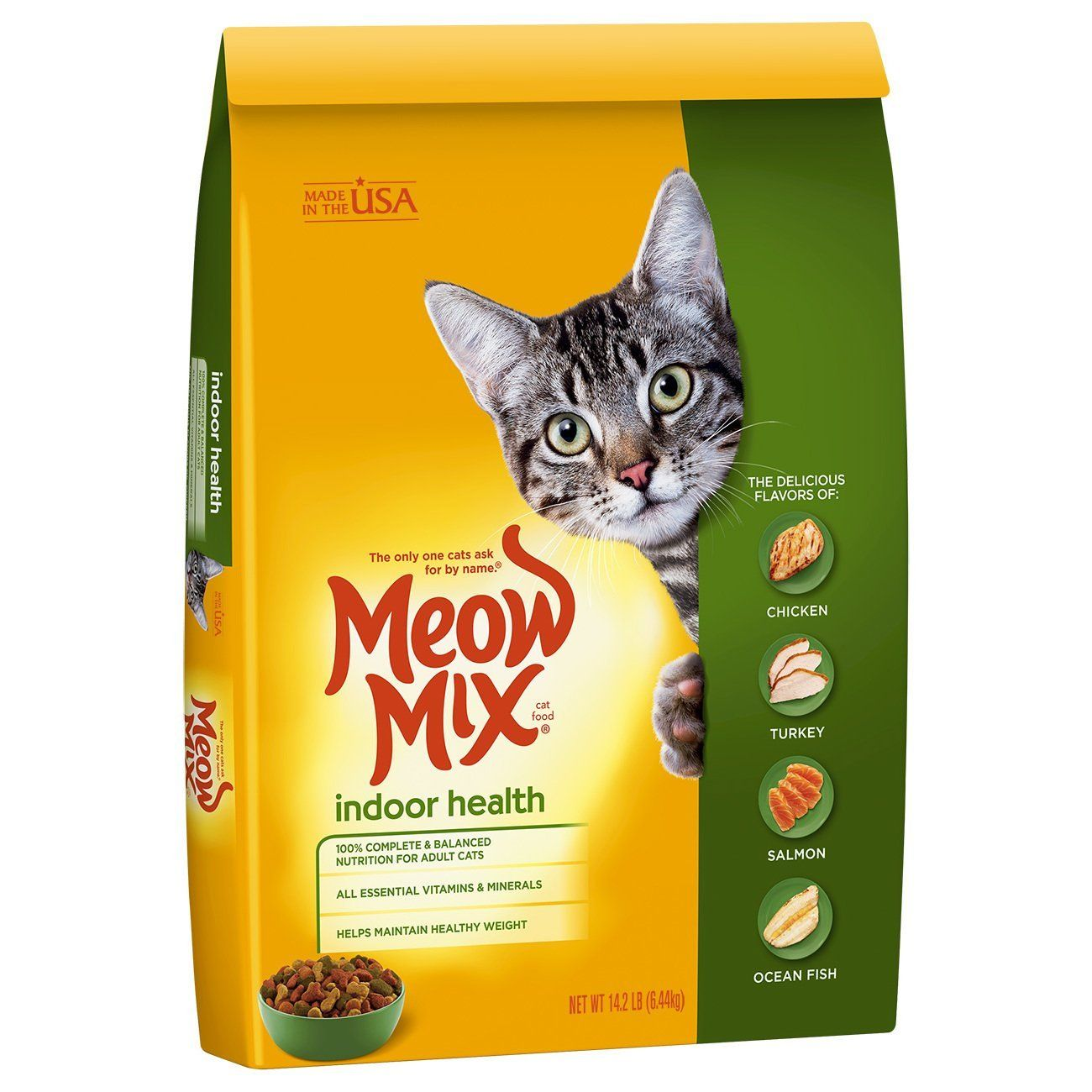 Meow Mix Indoor Health Dry Cat Food Special Cat Product Just For