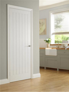 Beau Molded Interior Doors On Textured 5 Vertical Panel White Moulded Internal  Door 6281 P Png
