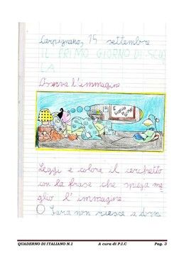 Quaderno Di Italiano Classe Seconda Classe Seconda Quaderno