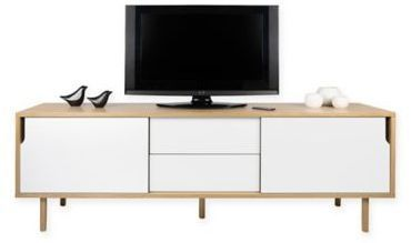 Credenza Dann : Tema furniture inc dann compartment sideboard in oak grey
