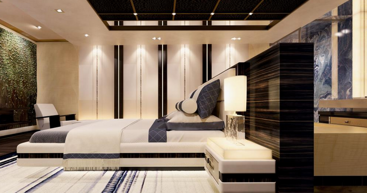 Aurora - a new 160-foot Rossinavi yacht Interior Aurora OR - OR a OR