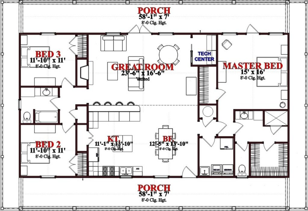 Open Floor Plans Sq Ft Ranch House on 1400 sq ft with 2 car garage floor plans, 1800 sq ft house plans with no wasted space, atrium ranch house floor plans, split level home floor plans, early-1800s house floor plans,
