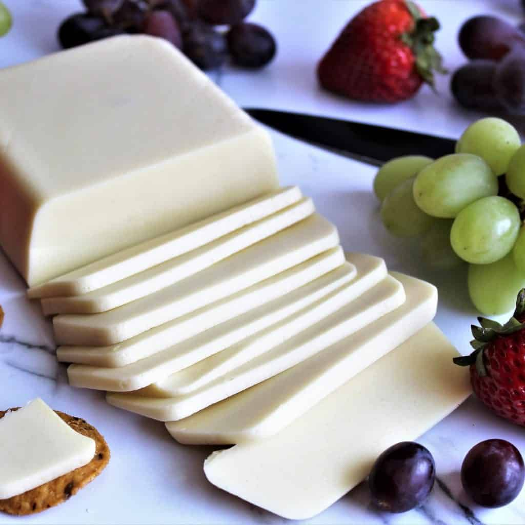 Recipe For Making Vegan Cheese With Coconut Milk Vegan Cheese That Melts And That You Can Slice Vegan Cheese Recipes Vegan Cheese Milk Recipes