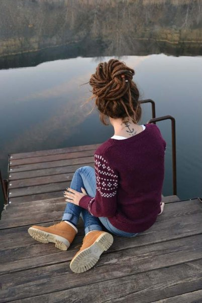 Outfit, tatto, girl, river, beautiful, peace, perfect, cool, fashion