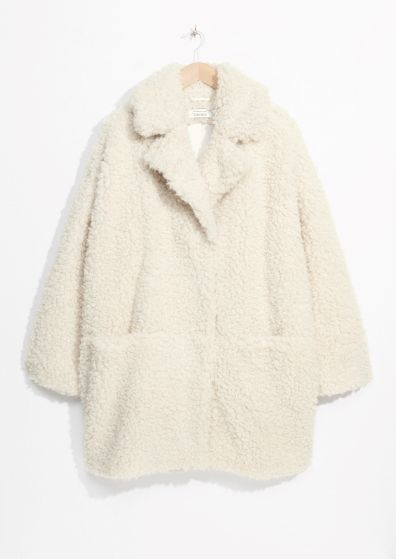 a3e1e0a6 Best Websites For Teenage Clothes. & Other Stories | Faux Fur Cocoon Coat
