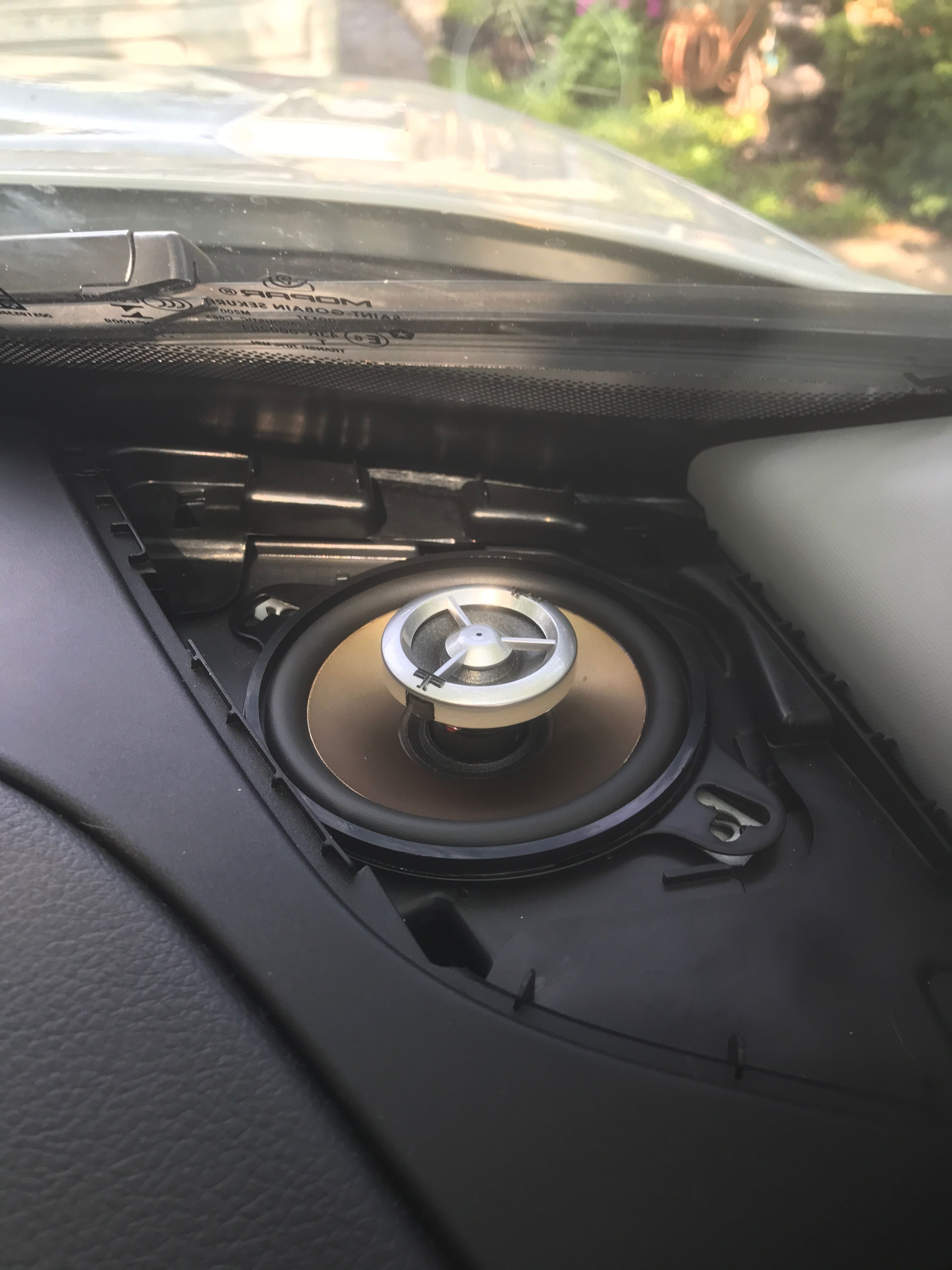 Replaced The Dash Speakers With Polk Db351 Coaxials Jeep Renegade 4runner Jeep