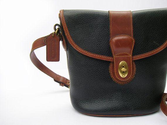 Coach Rare Sheridan Collection Vintage Leather Bucket Bag  6791eea8e1f83