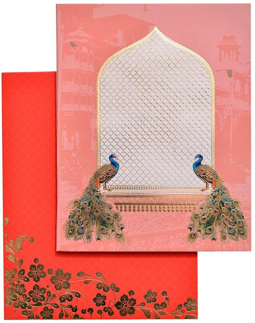 Velvet finish high end Designer invitation in booklet style ...