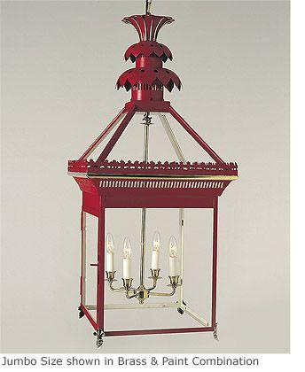 Hanging Pineapple Lantern | Charles Edwards | Lamps/lights ...