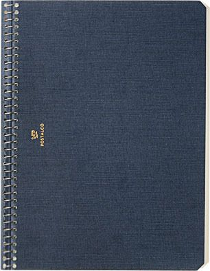 POSTALCO A5 PRESSED COTTON NOTEBOOK $23