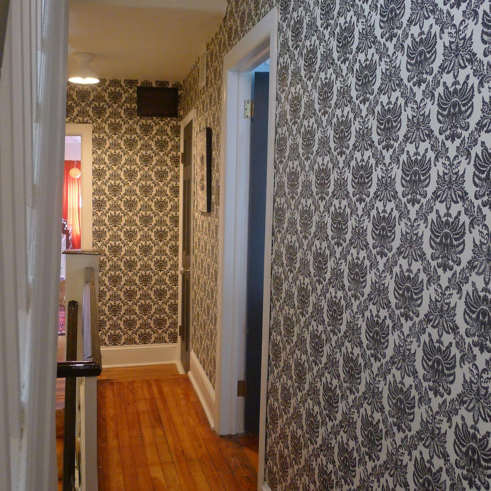Tremendous Hallway Wallpaper Loopele Com Hallway Ideas Pinterest Largest Home Design Picture Inspirations Pitcheantrous