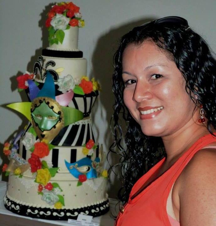 Mi dulce creacion en la expo-torta 2015 desde barquisimeto-venezuela.