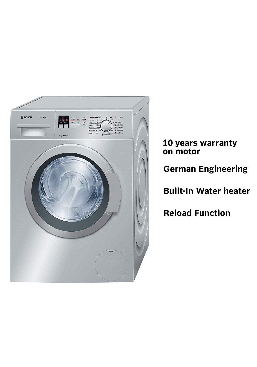 Best Offers And Hot Deals Buy Large Appliances Washing Machines Dryers Bosch 7 Kg Fully A Washing Machine Dryer Front Loading Washing Machine Washing Machine