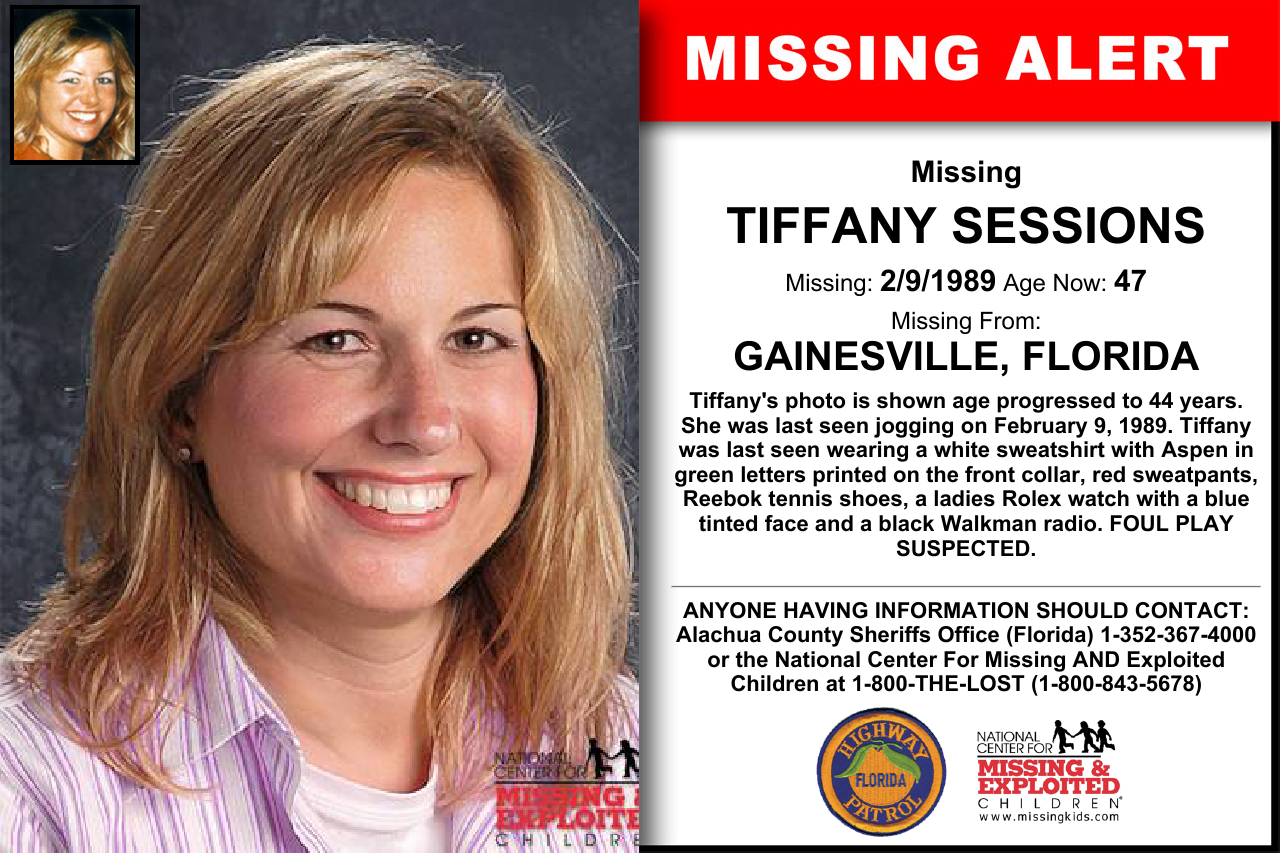 Tiffany Sessions Age Now 47 Missing 02 09 1989 Missing From Gainesville Fl Anyone Having Information Should Co Looking For Someone Florida We The People