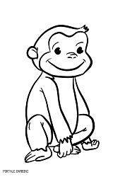 Disegni Da Colorare Animali Scimmia.Disegni Di Scimmie Da Stampare E Colorare Gratis Portale Bambini Monkey Coloring Coloringpages Coloringinspiration Disegni Disegni A Mano Colori