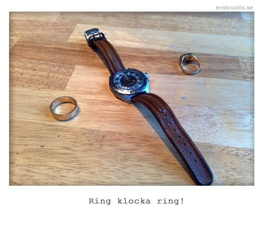 Ring klocka ring!