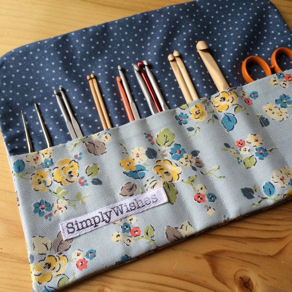 Cath Kidston Woodland Rose patterned Crochet Hook by SimplyWishes
