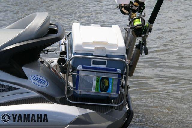 Jet ski fishing brisbane added for Jetski fishing rack