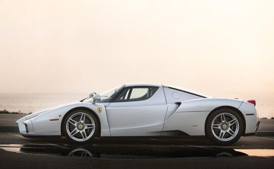 Ferrari Enzo In White Ferrari Super Cars Car