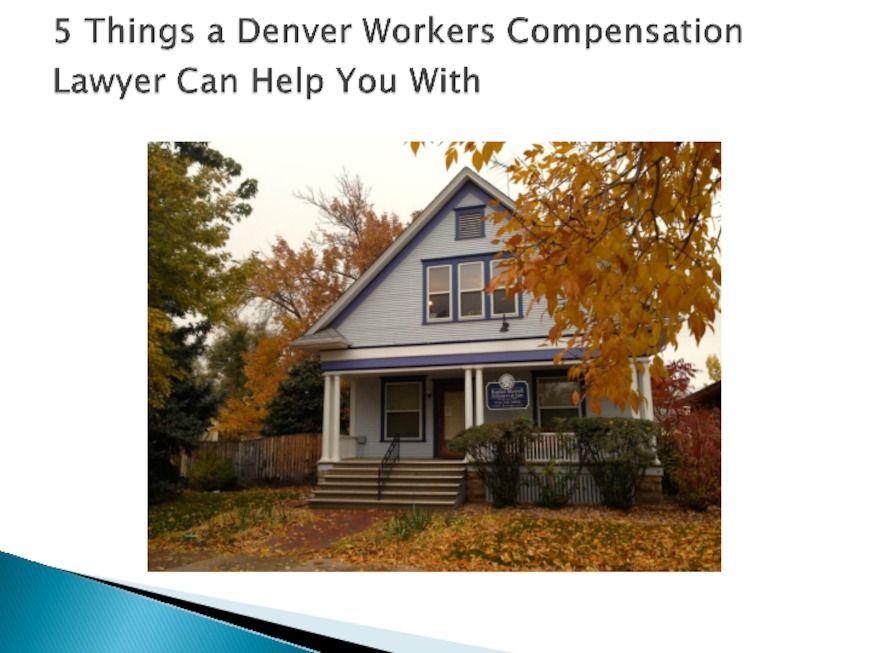 Denver Workers Compensation Lawyer Kaplan Morrell