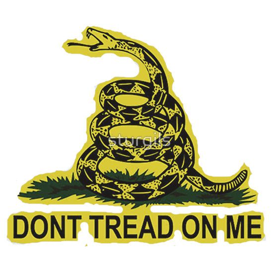 Dont Tread On Me Gadsden Sticker Dont Tread On Me Gadsden Flag American Flag Sticker