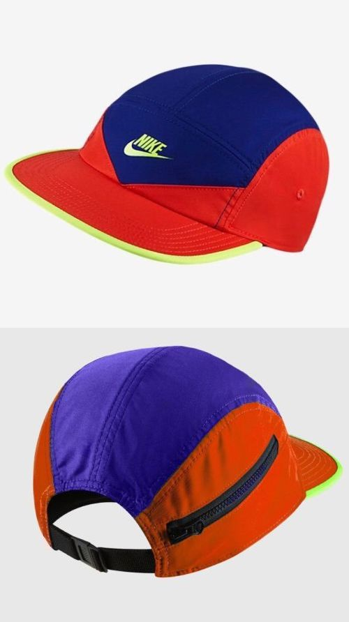 69db63e00e3 Hats 163543  (Bnwt) Nike Sportswear Aw84 Windrunner Qs 5 Panel Zip Running  Cap Hat 902897 Acg -  BUY IT NOW ONLY   41.99 on eBay!