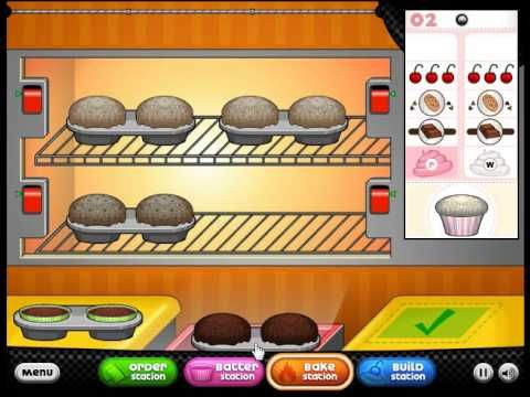 Cool Math Game Papa S Cupcakeria Game Online Games For