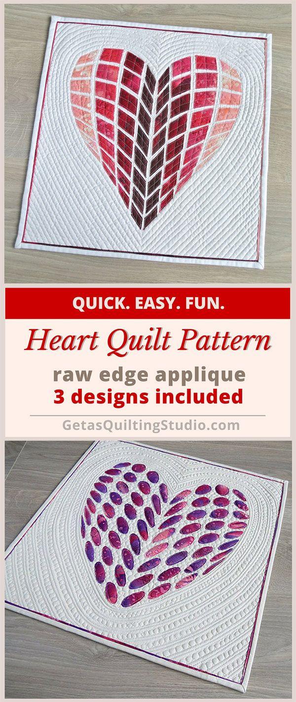 Heart quilt pattern love letters heart quilt pattern patchwork heart quilt pattern love letters heart quilt pattern patchwork and patterns spiritdancerdesigns Images