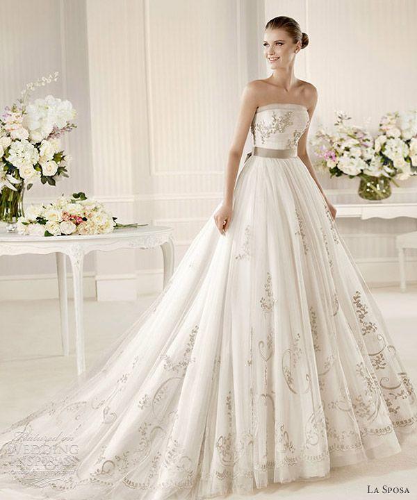 6052714928acf La Sposa 2013 Wedding Dresses — Glamour Bridal Collection | Wedding ...