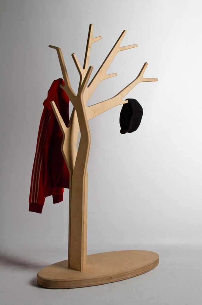 Captivating Tree Coatstand Natural Hanging Clothes By Wedid Id   Home Design Inspiration