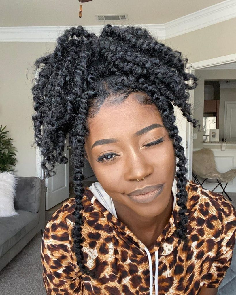 42+ Passion Twists, Spring Twist, and Braided Hair