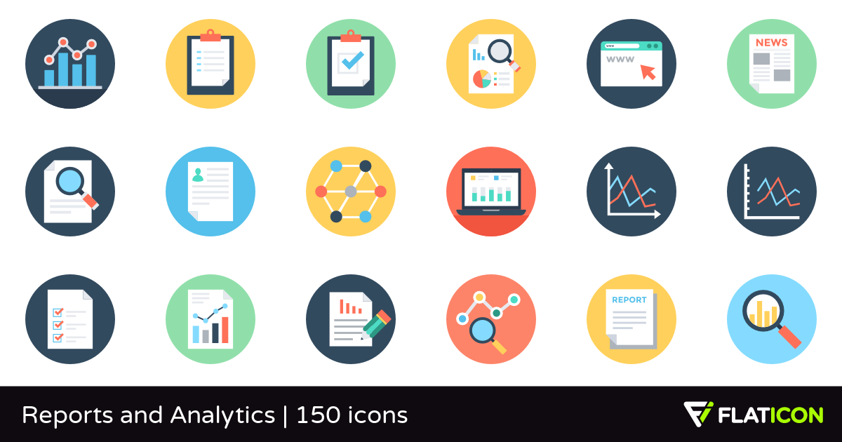 150 Free Vector Icons Of Reports And Analytics Designed By Vectors Market Analytics Design Icon Vector Icons