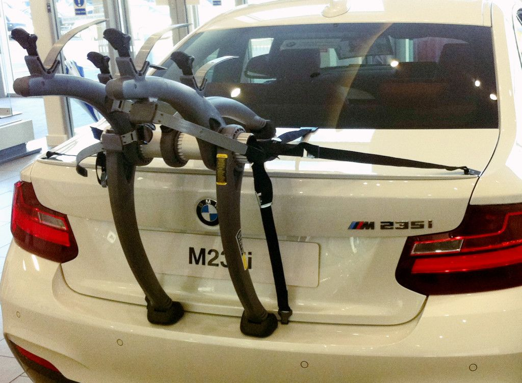5d 2015 3 BIKE CYCLE CARRIER REAR MOUNT 07//15- BMW 3-Series  320d M Sport