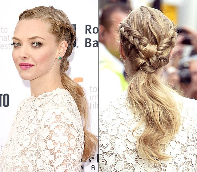 Celebs Braided Hairstyles On The Red Carpet Braided Hairstyles Cool Hairstyles Hair Styles