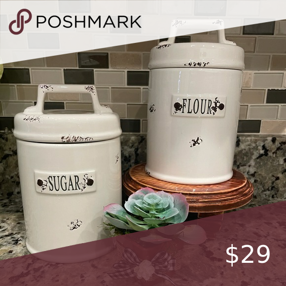Country Farmhouse Canisters