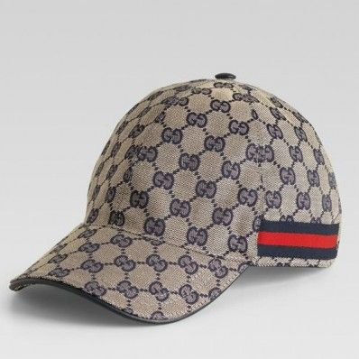 Gucci Top Baseball Hat with Wed 200035 in Beige Blue  71  6a12469031b