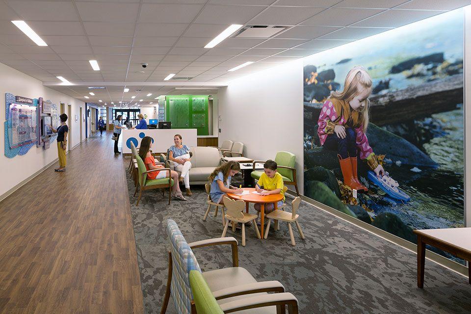 Akron Children S Hospital Mahoning Valley Hasenstab Architects Childrens Hospital Healthcare Design Hospital