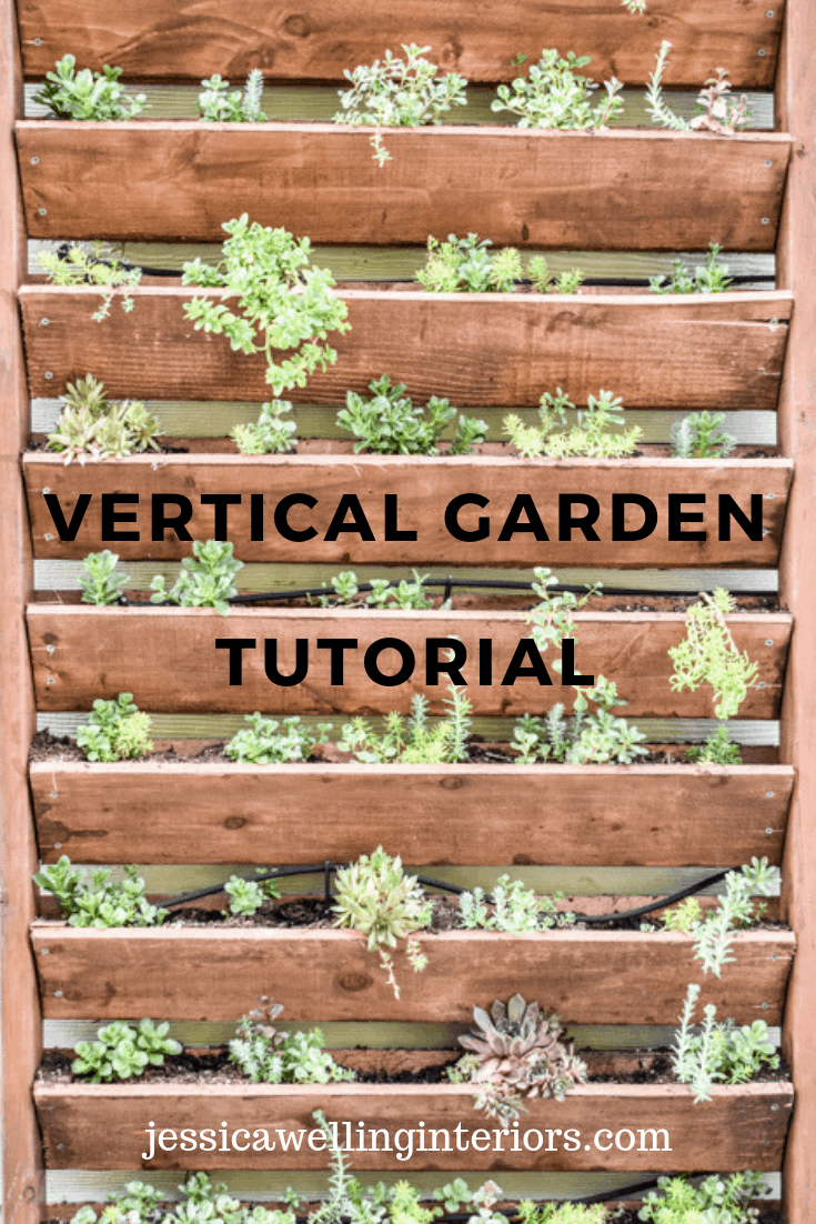 DIY Vertical Garden - Jessica Welling Interiors