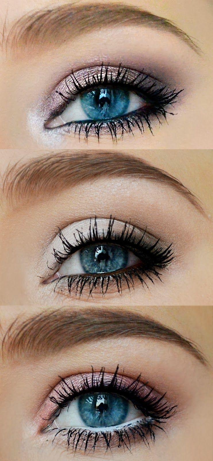 Saint Valentine Blue eye makeup, Eye makeup