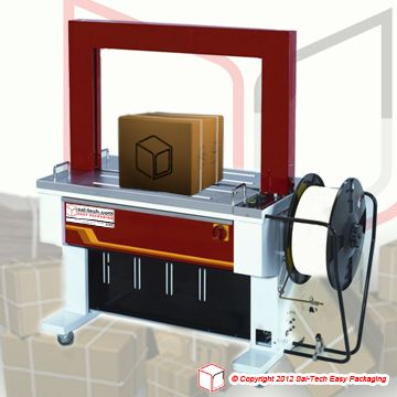 Step Tp 601d Strapping Machine Modern And Updated Edition Of The Popular Tp 6000 But With Many Improved Features