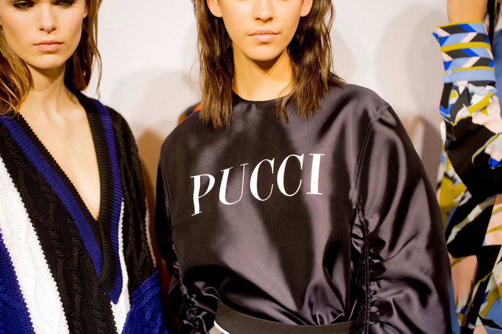 Emilio Pucci fall 2016 rtw - behind the scenes